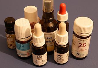 Heilende Mittel der Naturmedizin